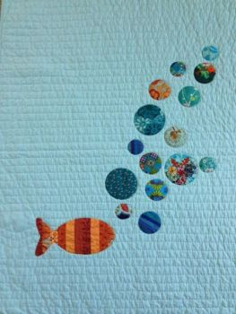 finished fishy quilt 2